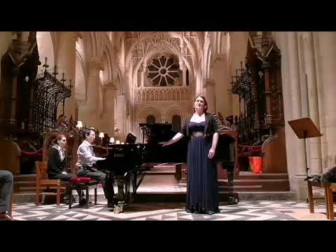 Charlotte Kirby Thomson live at Christ Church Cathedral, Oxford