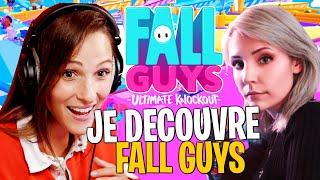 Mes premières games sur Fall Guys, je me fais coach par @Jeel 🤗