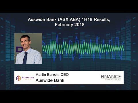 Auswide Bank (ASX:ABA) 1H18 Results