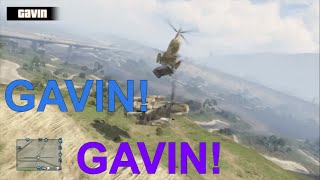 Achievement Hunter Shenanigans: Gavin And The Cargobob Accident