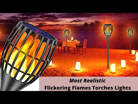 5 Most Realistic Flickering Flames Solar Torch Lights