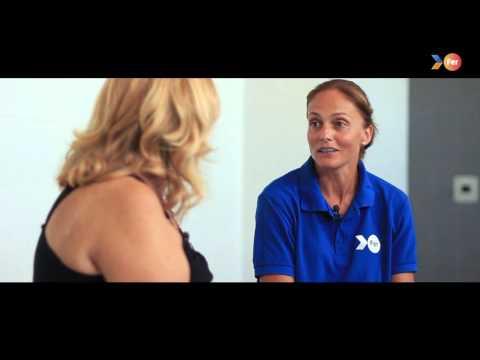 """FER 2015 """"Crec en tu"""" (Creo en ti)- Entrevista de Silvia Navarro y su madre"""