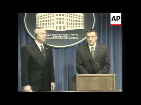 US Secretary of State arrives in Serbia