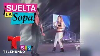 Suelta La Sopa   Belinda hizo bailar El sapito a su novio Criss Angel   Entretenimiento
