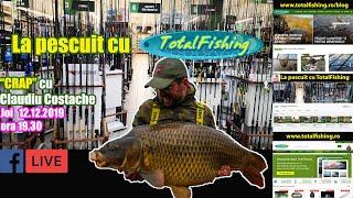 Despre pescuit la crap, abordare, tehnica si echipament cu Claudiu Costache