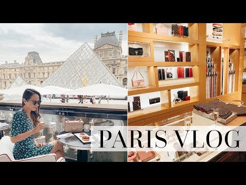 LOUIS VUITTON & POLENE | LUXURY SHOPPING & DINING IN PARIS!