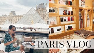 LOUIS VUITTON & POLENE | LUXURY SHOPPING & DINING IN PARIS!