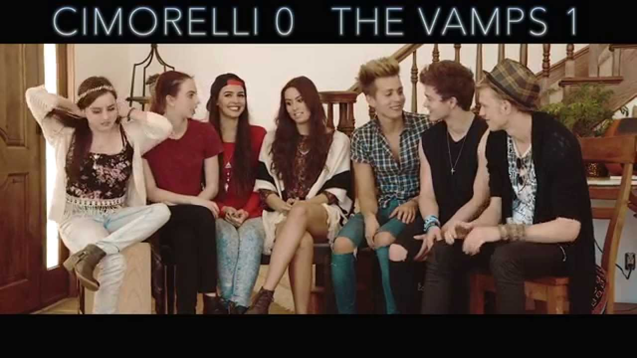 Live Wallpaper Not Working On Iphone 7 The Vamps Amp Cimorelli Seven Second Challenge Youtube