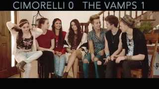 The Vamps & Cimorelli - Seven Second Challenge