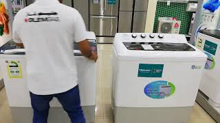 Hisense Z trust washing machine 14 kg white Model XPB140  /ZWM140