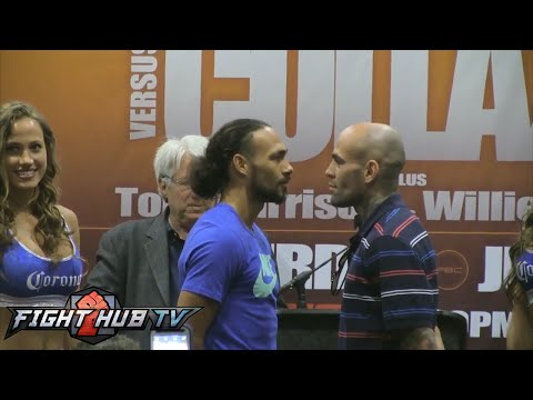 Keith Thurman vs. Luis Collazo Full Video- Final Press Conference + Face Off