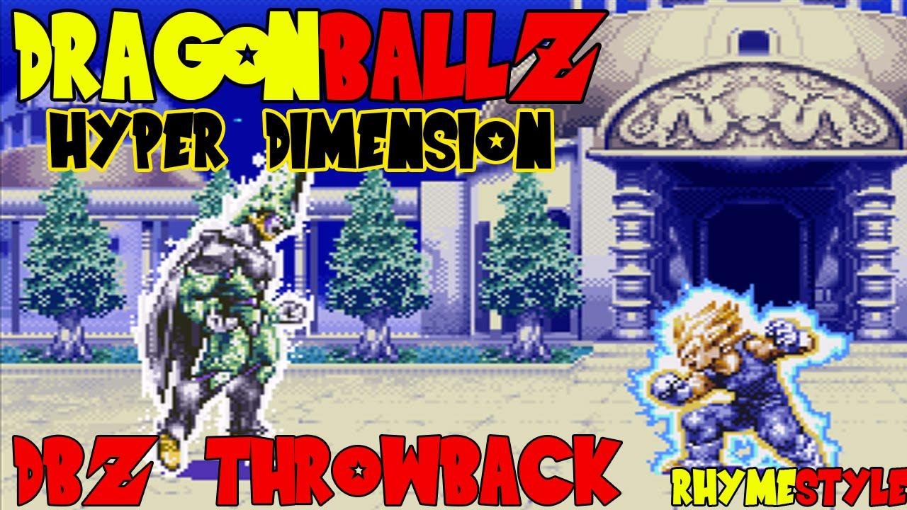 dragon ball z hyper dimension rom