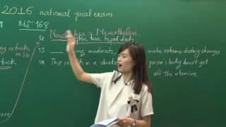 Đề thi THPTQG 2016 - Cô Hương Fiona - Bài giải môn Tiếng Anh (P2)