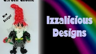 Rainbow Loom Garden Gnome NEW VERSION! Action Figure/Charm - Gomitas