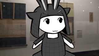 前田土佐守家資料館 紹介動画 ウサギとヤギ