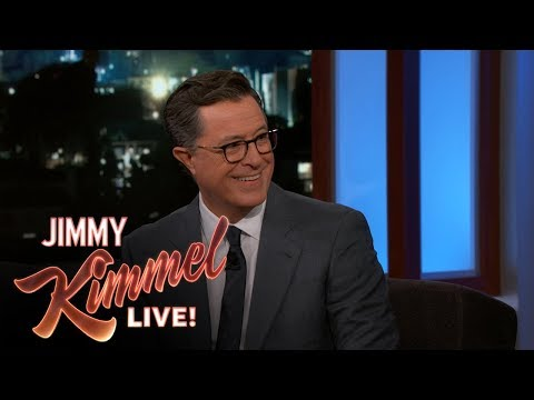 Jimmy Kimmel & Stephen Colbert on Donald Trump Jokes