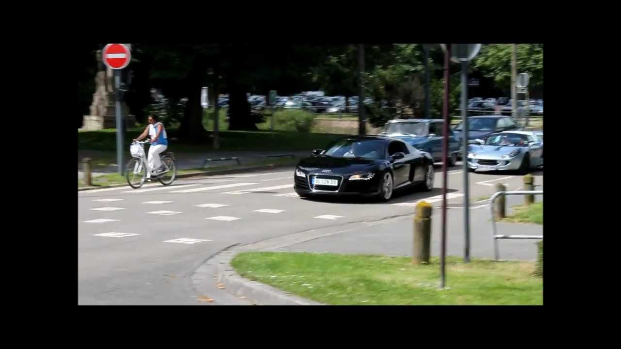 Garage Audi Lille Audi R8 V8 Lotus Elise Acceleration Drive By In Lille