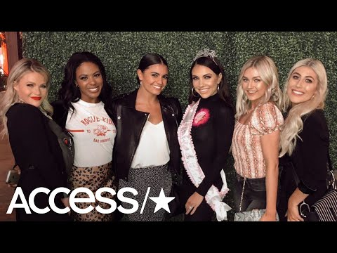Jenna Johnson Throws Down For An Epic Bachelorette Party With Her 'DWTS' Pals   Access