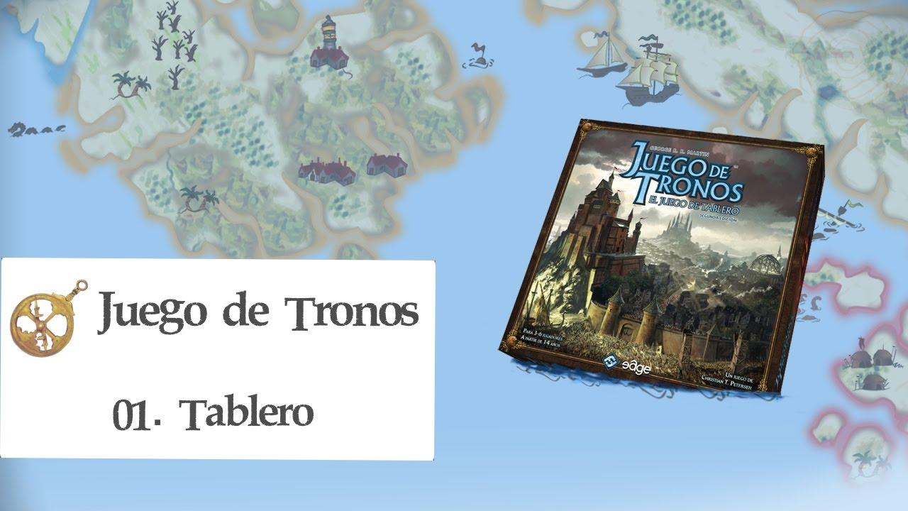 Juego De Tronos El Juego De Tablero E01 Tablero Youtube