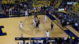 Charles Matthews' Two-Hand Jam vs. Iowa