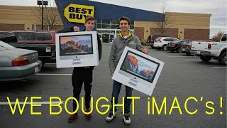 IDIOTS Go Computer Shopping! We Bought iMacs!