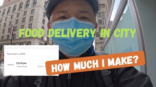 Food Delivery In New York City   Postmates Deliveries with English Subtitles   Tibetan Vlogger  