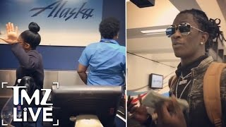 YOUNG THUG Shames Airport Workers   TMZ Live