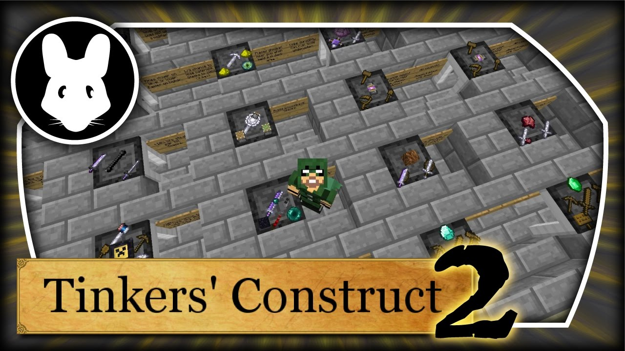 Tinkers' Construct 2: Modifiers Bit-by-Bit in Minecraft 1 10+