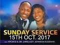 Sunday Service 15th Oct. 2017  PT 2 LIVE With Apostle Johnson Suleman