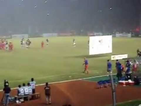 end of match of Indonesia XI vs Liverpool FC