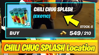 Chili Chug Splash LOCATIONS & GAMEPLAY (Fortnite)
