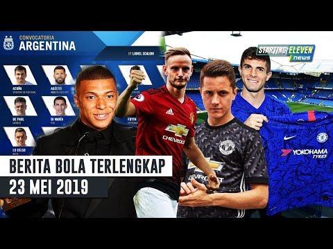 RESMI Pulisic Ke Chelsea 🔥 Skuat Argentina coppa America 😍 Rakitic Gantikan Herrera (Berita Bola)
