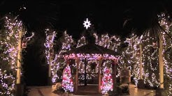 San Pablo Catholic Church Christmas Lights in Marathon, Florida - a Conch Records video