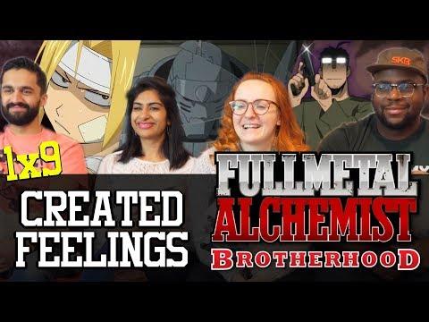 Fullmetal Alchemist: Brotherhood - 1x9 Created Feelings - Group Reaction
