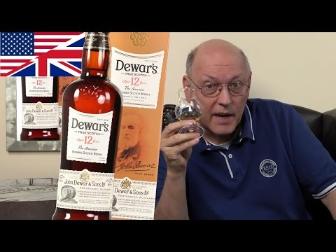 Whisky Review/Tasting: Dewar's 12 Years