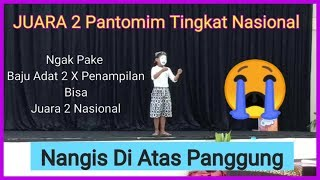 Juara 2 Pantomim Tingkat Nasional Bangka Belitung FLS2N SD 2018