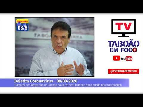 Hospital de Campanha de Taboão da Serra será fechado após queda nas internações