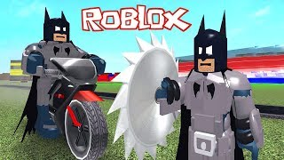 Je suis batman le super-héros!!! Roblox Super Hero Tycoon