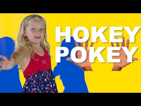 Hokey Pokey - Put your right hand in - Nursery Rhyme Kids Song