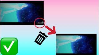 Как легко удалить водяной знак с видео на IPhone и Android!