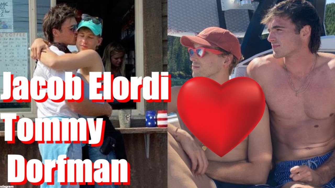 Jacob Elordi kisses Tommy Dorfman in cozy picture