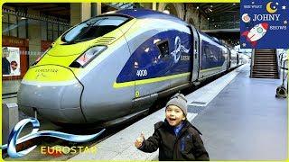 Johny's High Speed Train Ride On Eurostar Train From London To Paris.mp3