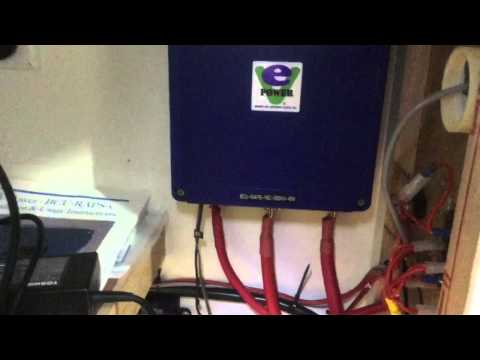 Lithium battery bank for solar power part 4
