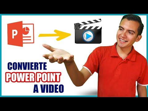 Convertir POWERPOINT a VIDEO ✅📽️ La mejor forma - sin Programas ¡¡Funciona!!