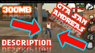 √how to download GTA San Andreas For 300MB