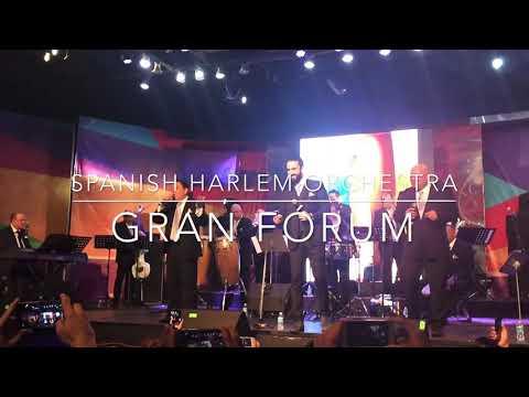 La media vuelta. Spanish Harlem Orchestra. Gran Fórum.