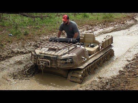 Argo 8x8 XTI Gets No Mercy at Mud Nationals 2018