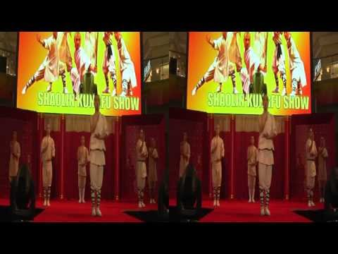 Experience China Shaolin Kungfu & Acrobat Show sbs 3D