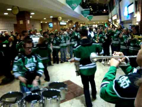 University of North Dakota (formerly known as the Fighting Sioux) Hockey Band (11/03/2013)