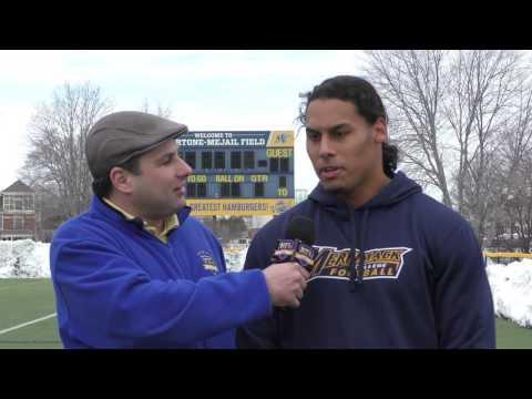 Pro Day Interview | Josh Hill, Edge, Merrimack
